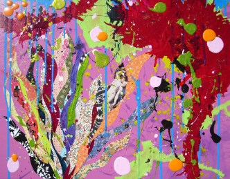 2009-02 Sweet Tart 28x22 inches $500